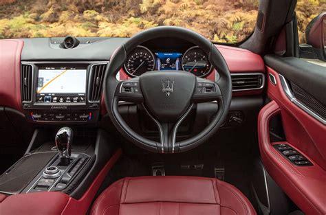 maserati truck red interior maserati levante interior autocar