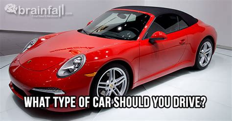 What Type Of Car Should You Drive?