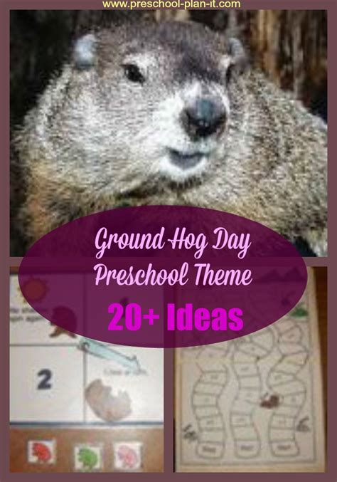 ground hog day theme for preschool 720 | ground hog preschool theme