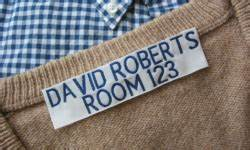 sewing labels personalized custom fabric sew in labels With clothing id labels