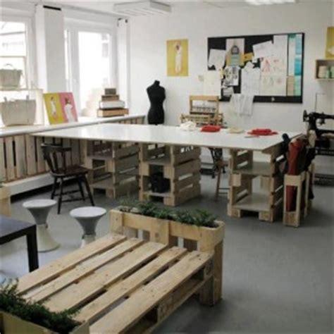 lada da scrivania design palety we wn苹trzach palety w biurze nowy