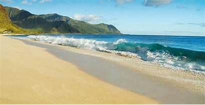 Beach Hawaii Summer Waves Ocean Gifs Kauai