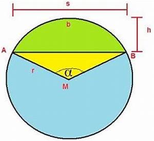 Kreissehne Berechnen : kreisabschnitt kreissegment berechnen formel beispiel video ~ Themetempest.com Abrechnung