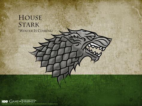 house stark game  thrones wallpaper  fanpop