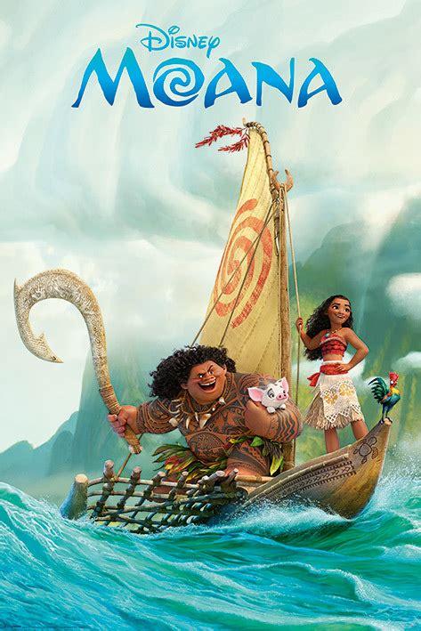 Moana Boat Au by Disneys Moana Boat Maxi Poster 570 At Mighty Ape