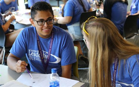 growing young leaders  summer leadership institute