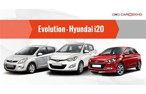 Evolution  Hyundai I20  Features Cardekhocom
