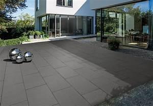 Terrassenplatten Reinigen Beton : helle freude mit dunklen terrassen ~ Michelbontemps.com Haus und Dekorationen