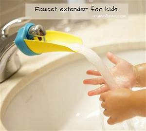 Genius Ideas- faucet extender for kids - Dump A Day