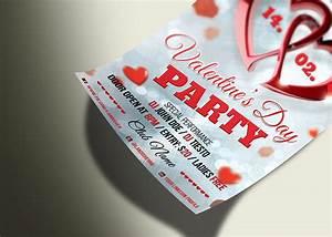 Valentine's Day - PSD Flyer Template - Landisher
