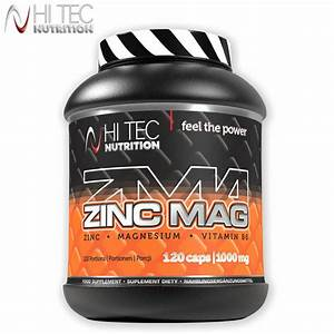 Zma Zinc Mag 120 Caps  Anabolic Testosterone Booster Support Recovery Sleep Aid