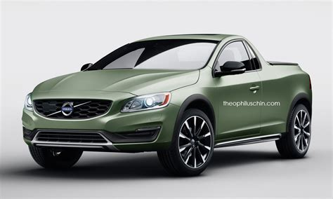 Volvo S60 2-door Pickup Is A Stunning Idea That Will Never