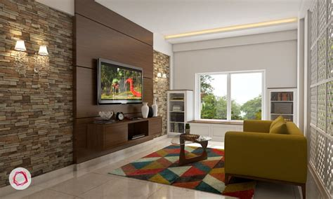 stunning tv wall designs   living room