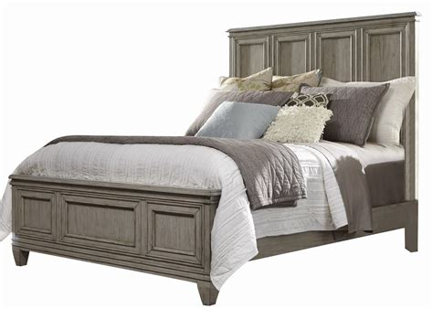 driftwood bedroom furniture liberty grayton grove queen panel bed in driftwood 573 br qpb 11484 | 96343