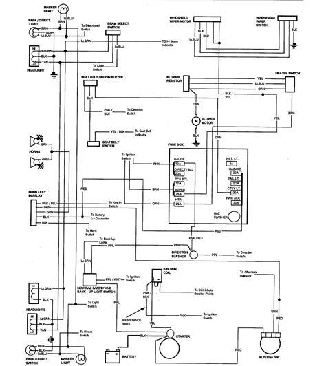87 El Camino Wiring Diagram by No Horn At All In 76 Classic El Camino Central Forum
