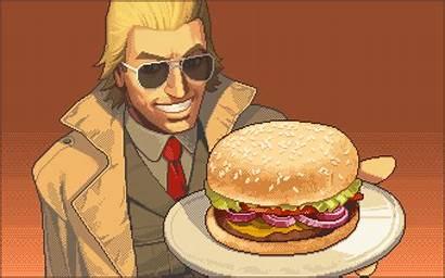 Burger Solid Gear Metal Miller Hamburger Meme