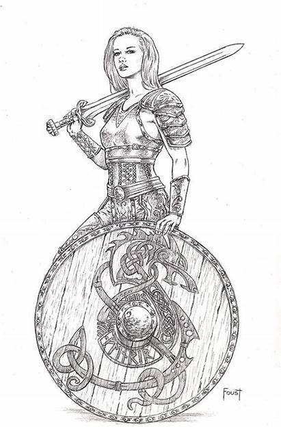 Deviantart Viking Drawing Mitchfoust Tattoo Coloring Comic