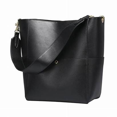 Leather Bags Sac Bucket Zone Purse Tote