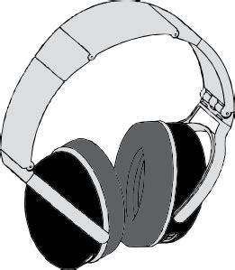 headphones clip art  clkercom vector clip art