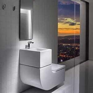 Lave Main Suspendu : toilette suspendu avec lave main ~ Nature-et-papiers.com Idées de Décoration