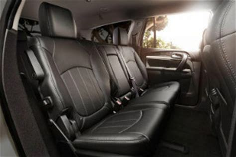 buick enclave seat  people