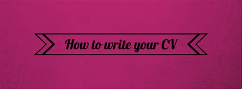 How To Write Your Cv by How To Write Your Cv The King Sixth Form College