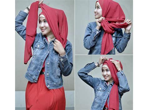 tutorial hijab segi empat ria miranda tutorial hijab