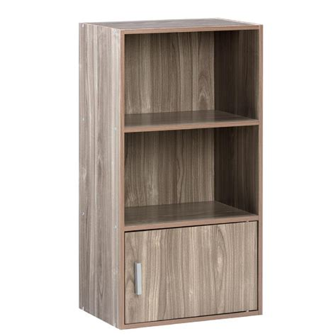 small book shelf onespace walnut small bookshelf 50 6522wn the home depot