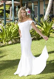 Various kinds of wedding dresses with new models hawaiian for Hawaiian wedding dresses