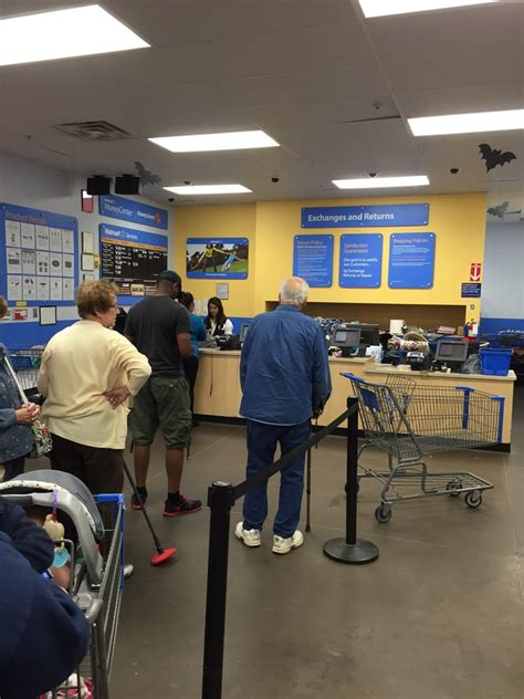 walmart customer service desk hours one person working customer service desk and a never