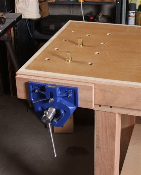 basic woodworking bench  quick