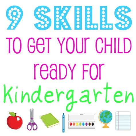 9 skills to get your child ready for kindergarten bonnie 603 | 9 Skills to Get Your Child Ready for Kindergarten