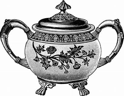 Tea Clip Pot Teapot Clipart Teacup Cup