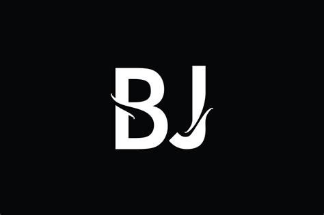 bj monogram logo design  vectorseller thehungryjpegcom
