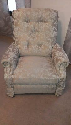 How To Reupholster A Reclining Sofa by Lazyboy Makeover How To Reupholster A Recliner Lazy Boy