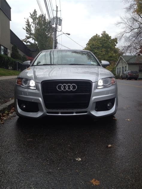 audi  front bumper options nicks car blog