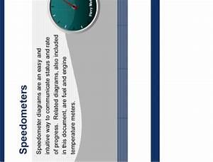 Speedometer Diagram Powerpoint Templates