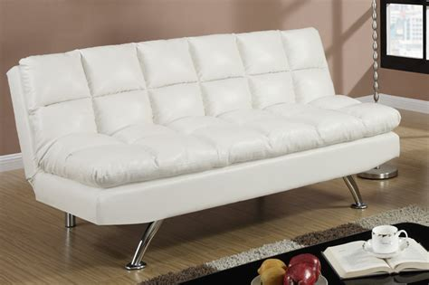 white leather sofa bed white leather twin size sofa bed steal a sofa furniture