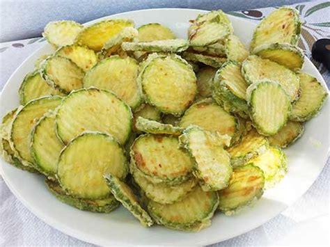 cuisine grec kolokithakia tiganita tranches de courgettes frites