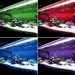 Aquarium Set Led : rgb led 50cm 100cm strip aquarium set fish tank lighting ~ Watch28wear.com Haus und Dekorationen