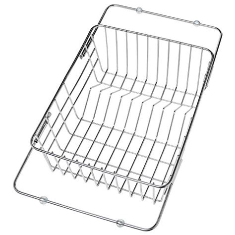kitchen sink drainers baskets 9 slot stainless steel adjustable in sink dish drainer 5765