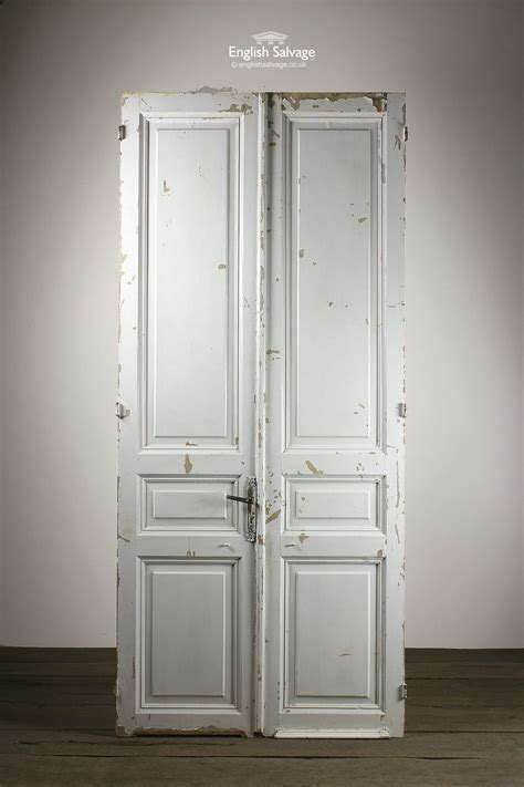 salvaged french empire double doors