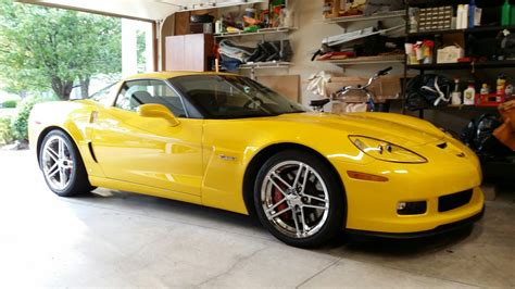 miles yellow  sale corvetteforum