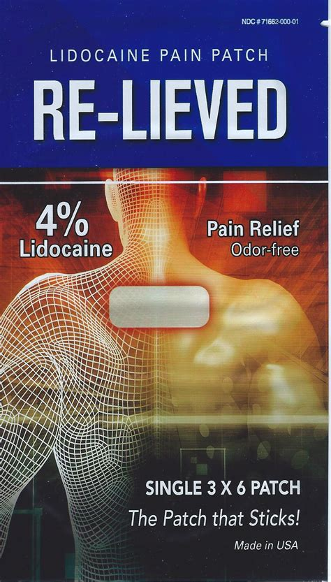 Amazon.com: Ultimate Lidocaine Pain Relief Patch: Health