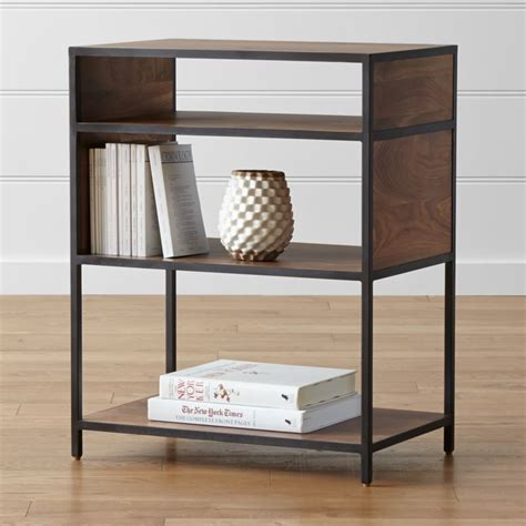 Low Bookcases by Low Open Bookcase Crate And Barrel