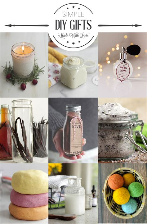 easy craft gift ideas 11 simple diy gift ideas live simply 4339