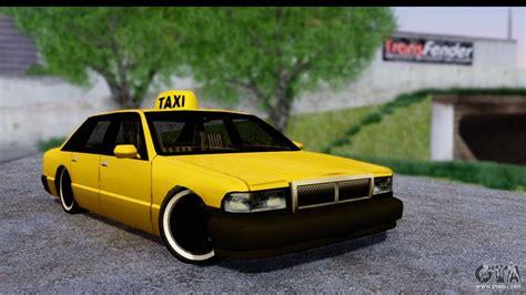slammed taxi  gta san andreas