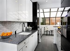 Modern Galley Kitchen Design - Contemporary - Kitchen