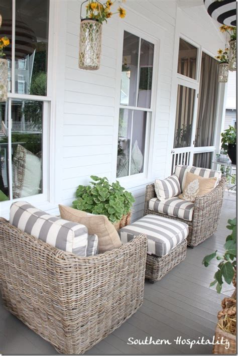 front porch chairs feature friday ballard designs bosch house at serenbe