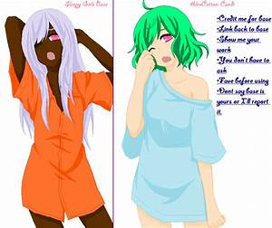 The gallery for --> Anime Girl Base With Clothes And Hair